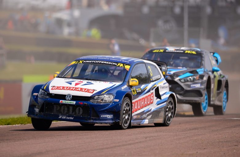 Kristoffersson holding third place in the World RX