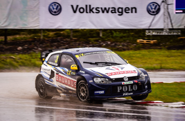 Strong pace and final for Kristoffersson at Sweden's World RX