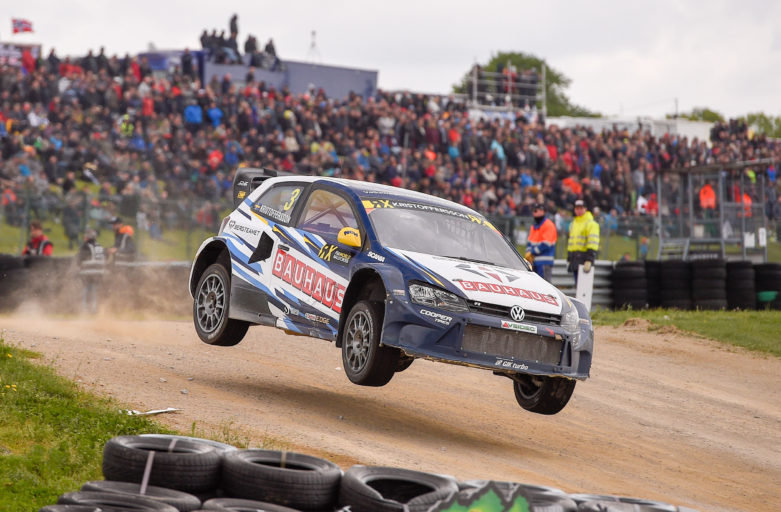 Kristoffersson moves up to third in the World RX standings