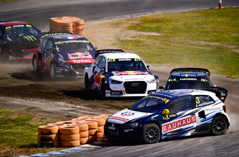 Johan Kristoffersson proves competitive speed in Germany