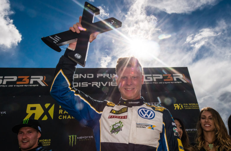Podium for Johan Kristoffersson in Canada