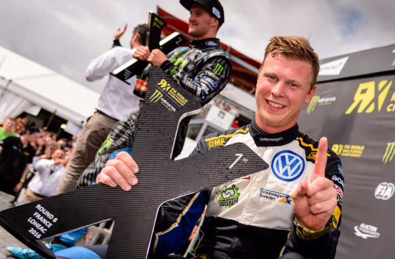 Victory for unbeatable Kristoffersson in France