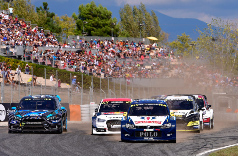 Kristoffersson strengthened his position in the World RX standings in Barcelona