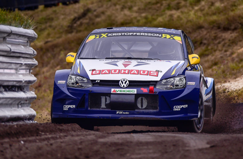 Sixth for Kristoffersson at World RX in Germany
