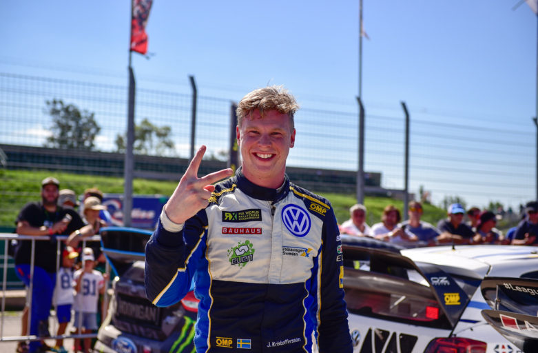 Johan Kristoffersson is Vice World RX Drivers' Champion