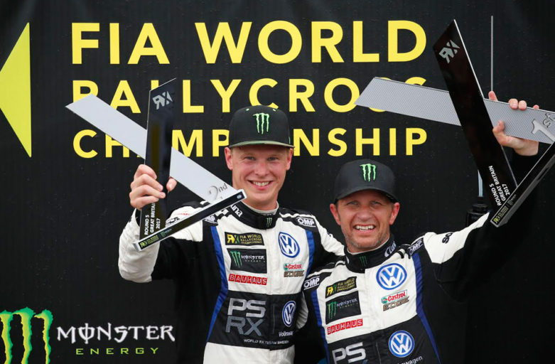 Kristoffersson second at Lydden Hill and takes the championship lead