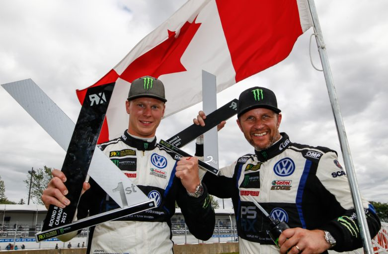 Hat-trick of victories for Johan Kristoffersson