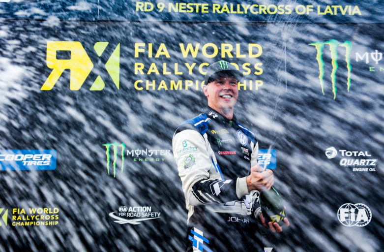Eighth win in nine World RX rounds for phenomenal Kristoffersson